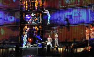 Les  Chemins Invisibles Event created by Cirque du Soleil