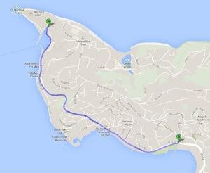 De Piran até Portoroz