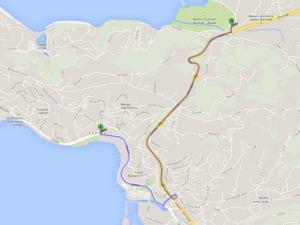 De Portoroz - até Strunjan